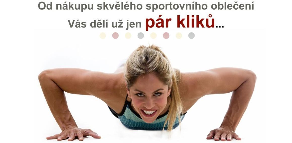 E-shop NA CVÍČO - dámské sportovní oblečení