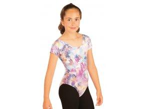 Dívčí gymnastický dres Litex 51453 s potiskem
