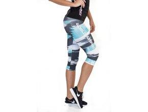 Sportovní fitness legíny Savana blue World Jumping 10